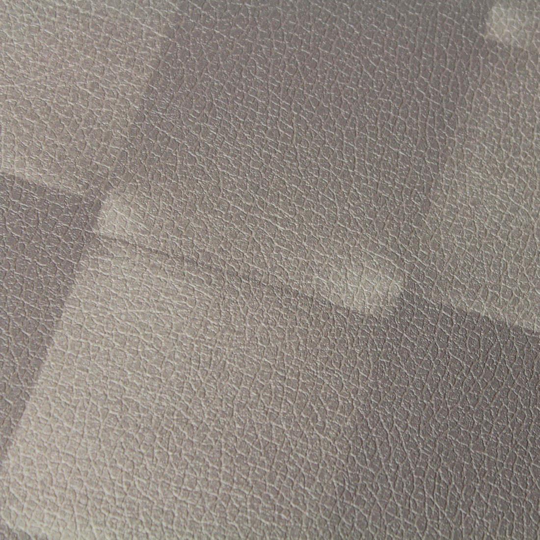 Papel de Parede Muresco Corium Couro Trançado Marrom Texturizado