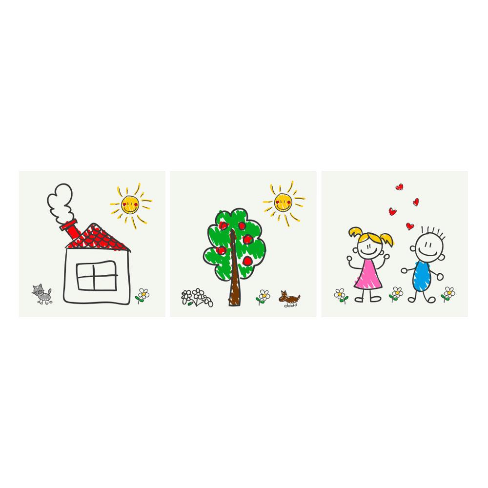 Quadrinhos Infantis Desenho de Crianças
