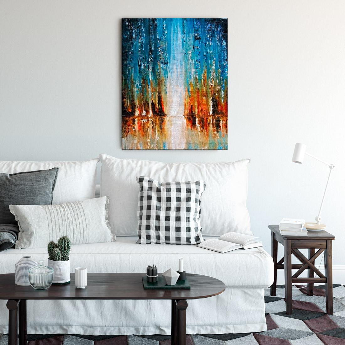 Quadro Decorativo Pintura Abstrata Pintura a óleo sobre tela
