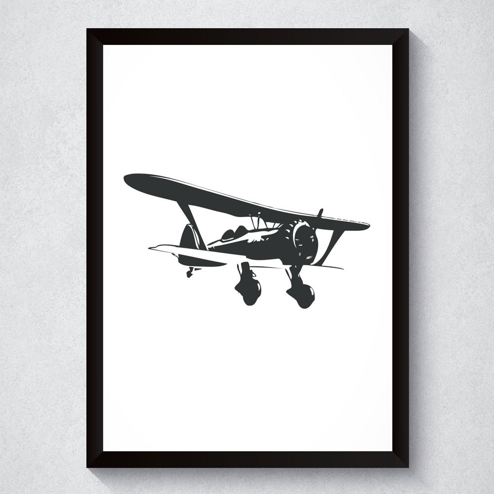 Quadro Decorativo Avião
