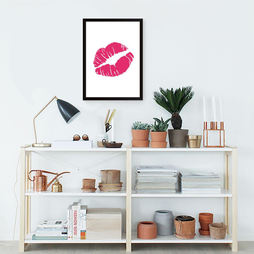 Quadro Decorativo Beijo