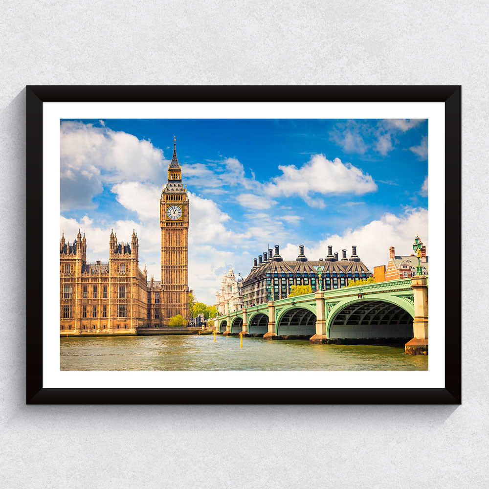 Quadro Decorativo Big Ben Londres