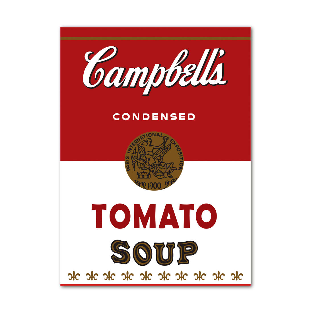 Quadro Decorativo Campbells Soup Tomato Vintage