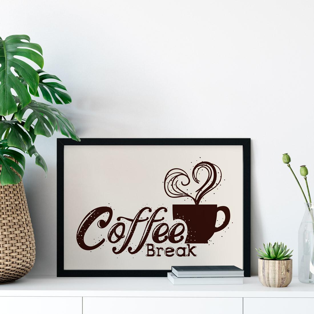 Quadro Decorativo Coffee Break