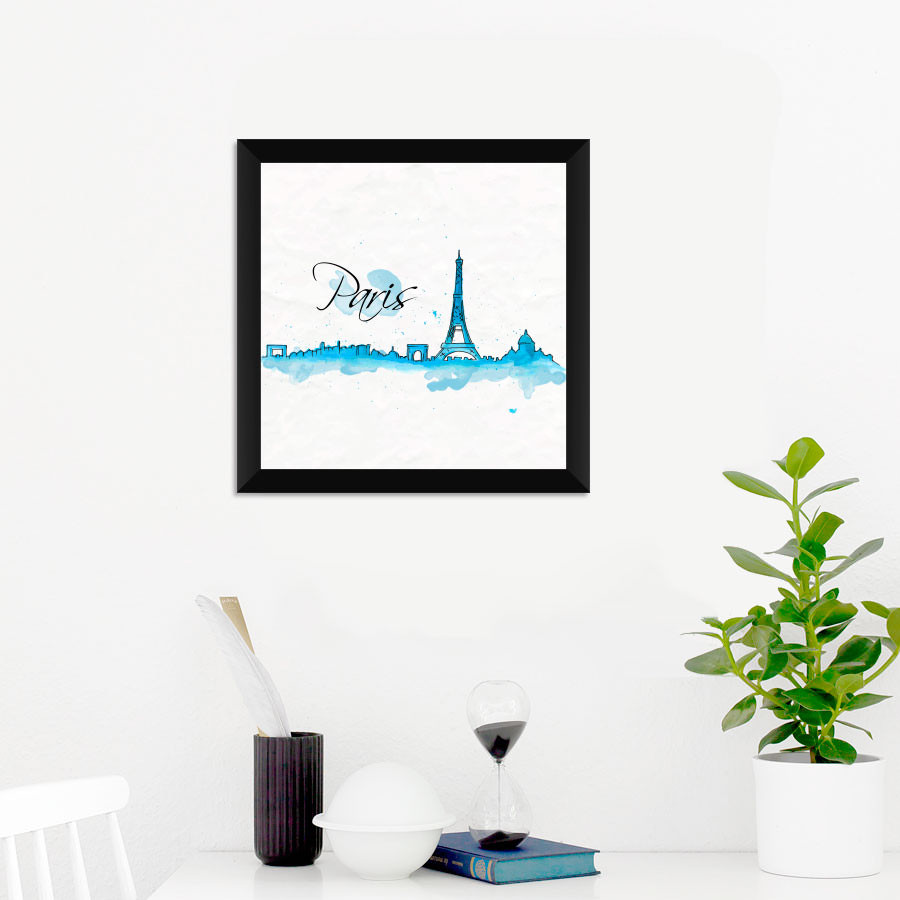 Quadrinho Decorativo Paris Torre Eiffel