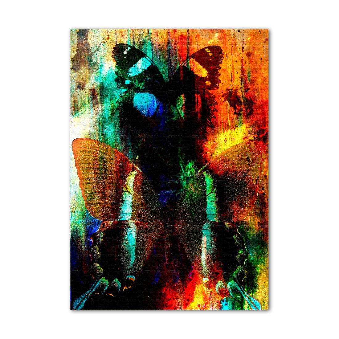 Quadro Decorativo Abstração Borboletas