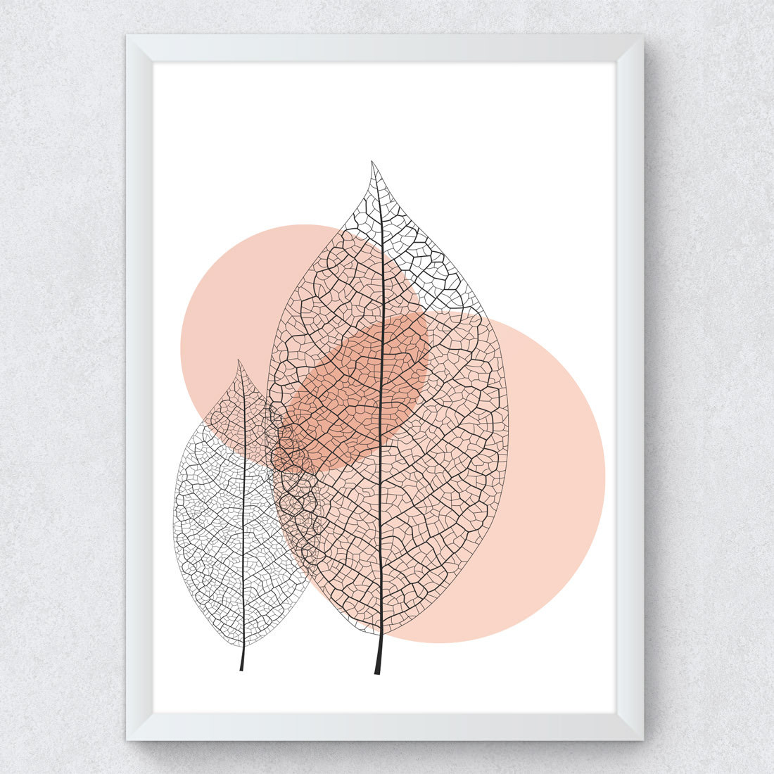 Quadro Decorativo Folhas Secas