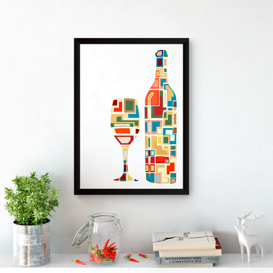 Quadro Decorativo Wine