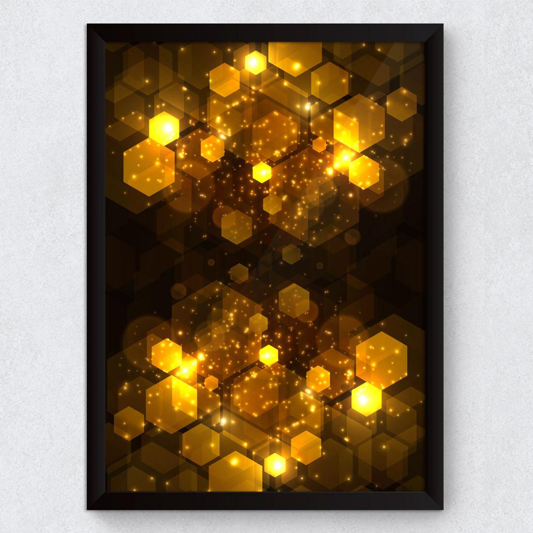 268af241d Quadro Decorativo Abstrato Geométrico Dourado Quadro Decorativo Abstrato  Geométrico Dourado ...