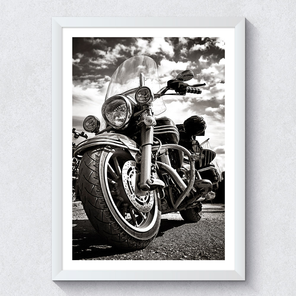 Quadro Decorativo Harley