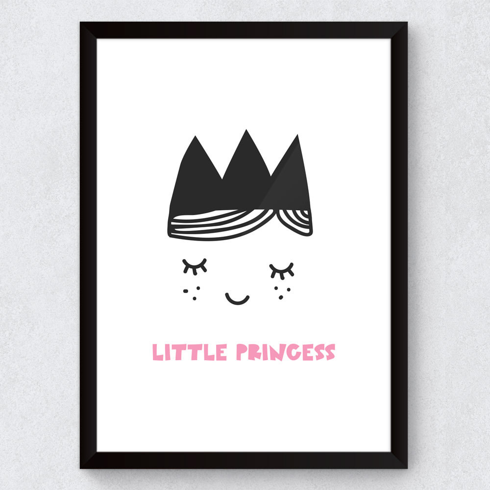 Quadro Decorativo Infantil Little Princess