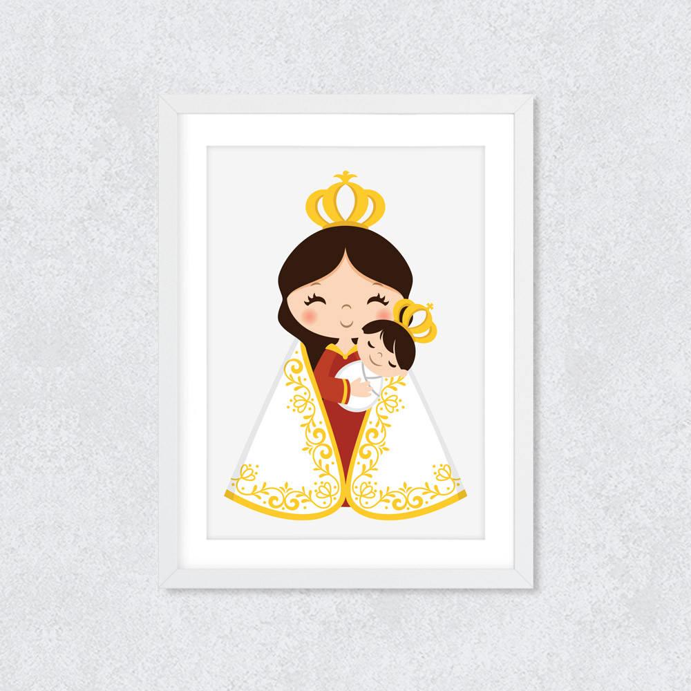 Quadro Decorativo Nossa Senhora de Nazaré