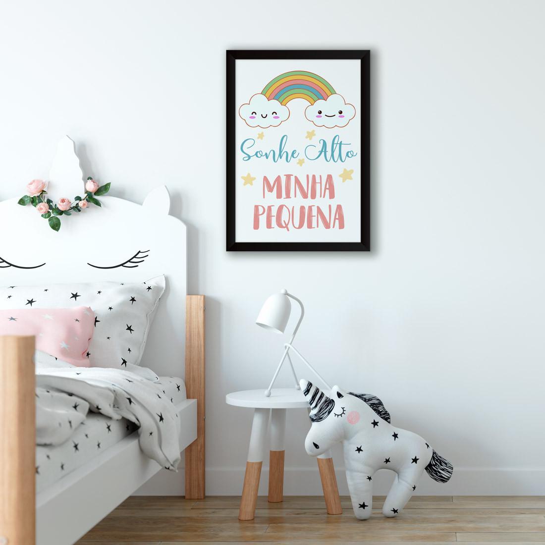 Quadro Decorativo Infantil Minha Pequena