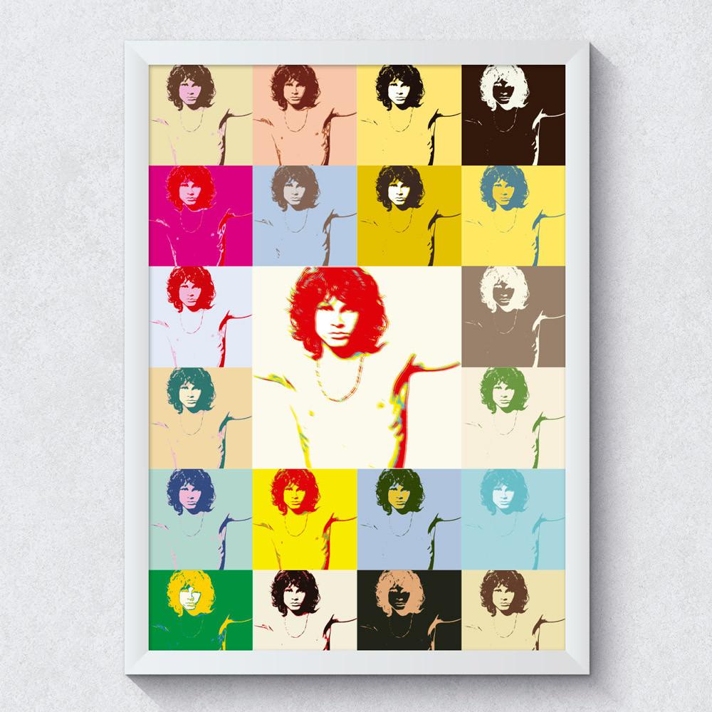Quadro Decorativo Jim Morrison
