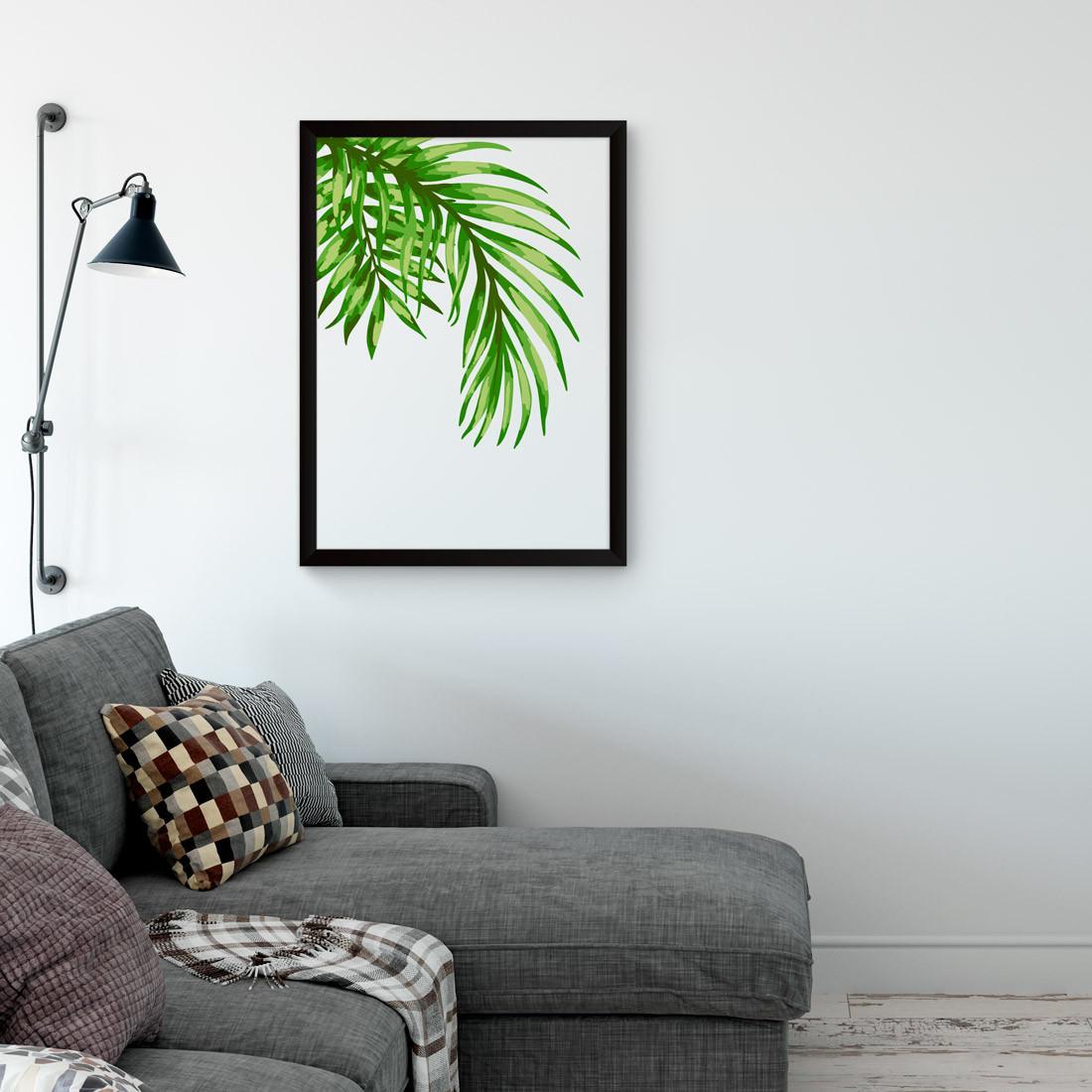 Quadro Decorativo Coqueiro Tropical