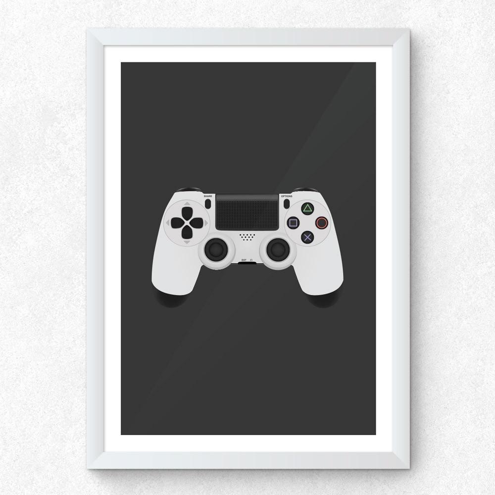 Quadro Decorativo Controle de Play Station