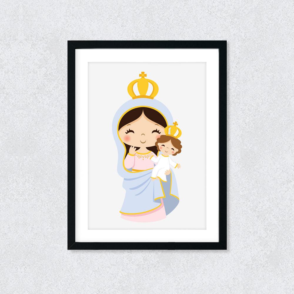 Quadro Decorativo Nossa Senhora da Saúde