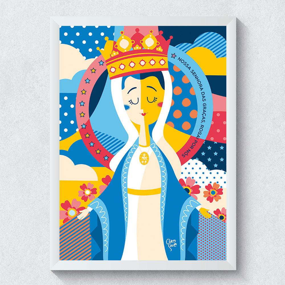 Quadro Decorativo Nossa Senhora das Graças