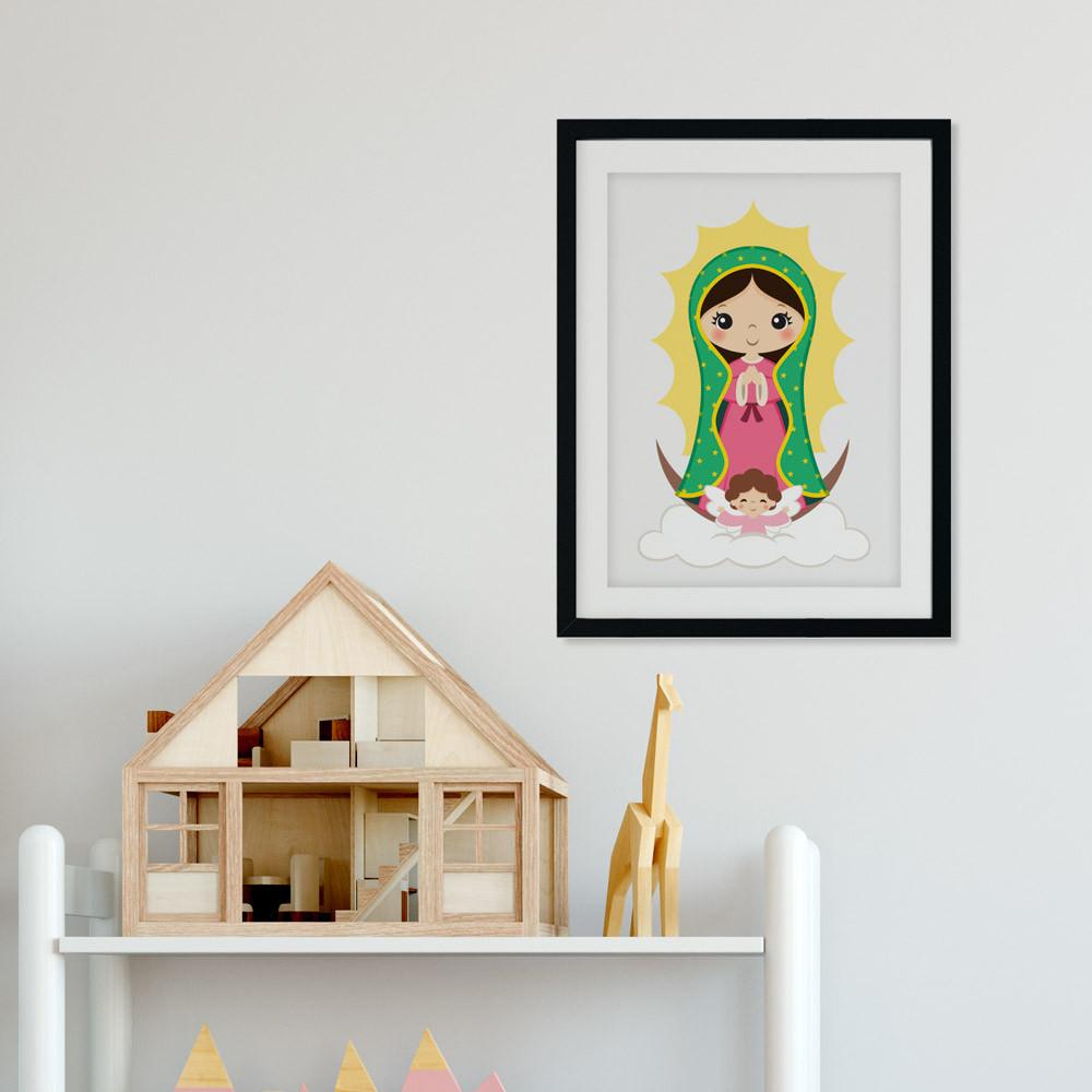 Quadro Decorativo Nossa Senhora de Guadalupe