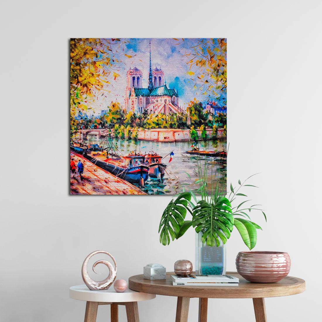 Quadro Decorativo Paris Notre Dame