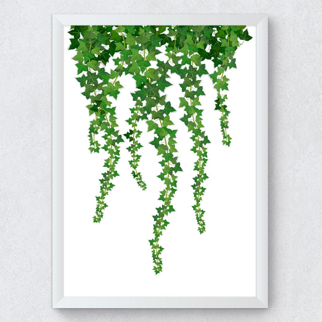 Quadro Decorativo Planta Pendente