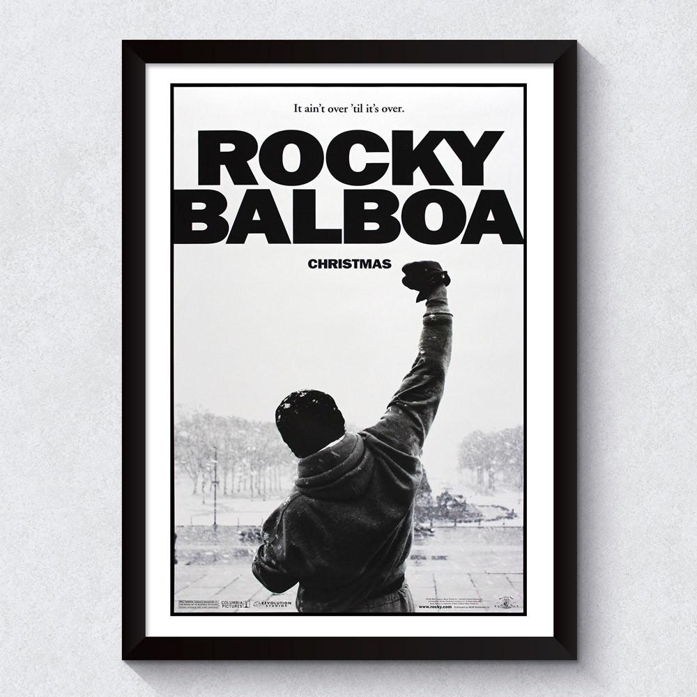 Quadro Decorativo Rocky Balboa