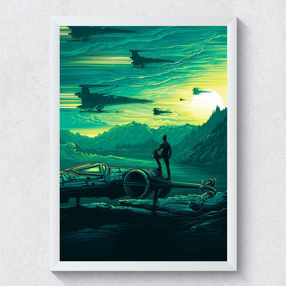 Quadro Decorativo Star Wars O Despertar da Força III