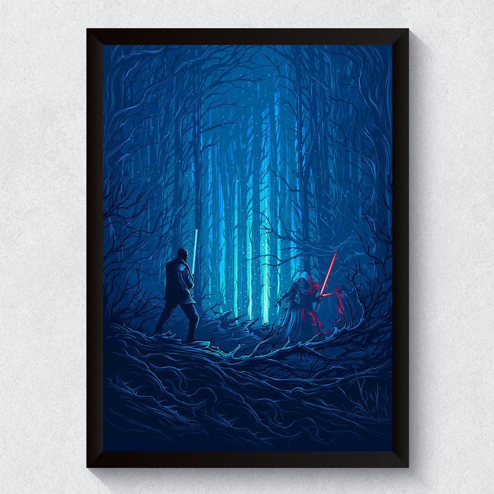 Quadro Decorativo Star Wars O Despertar da Força