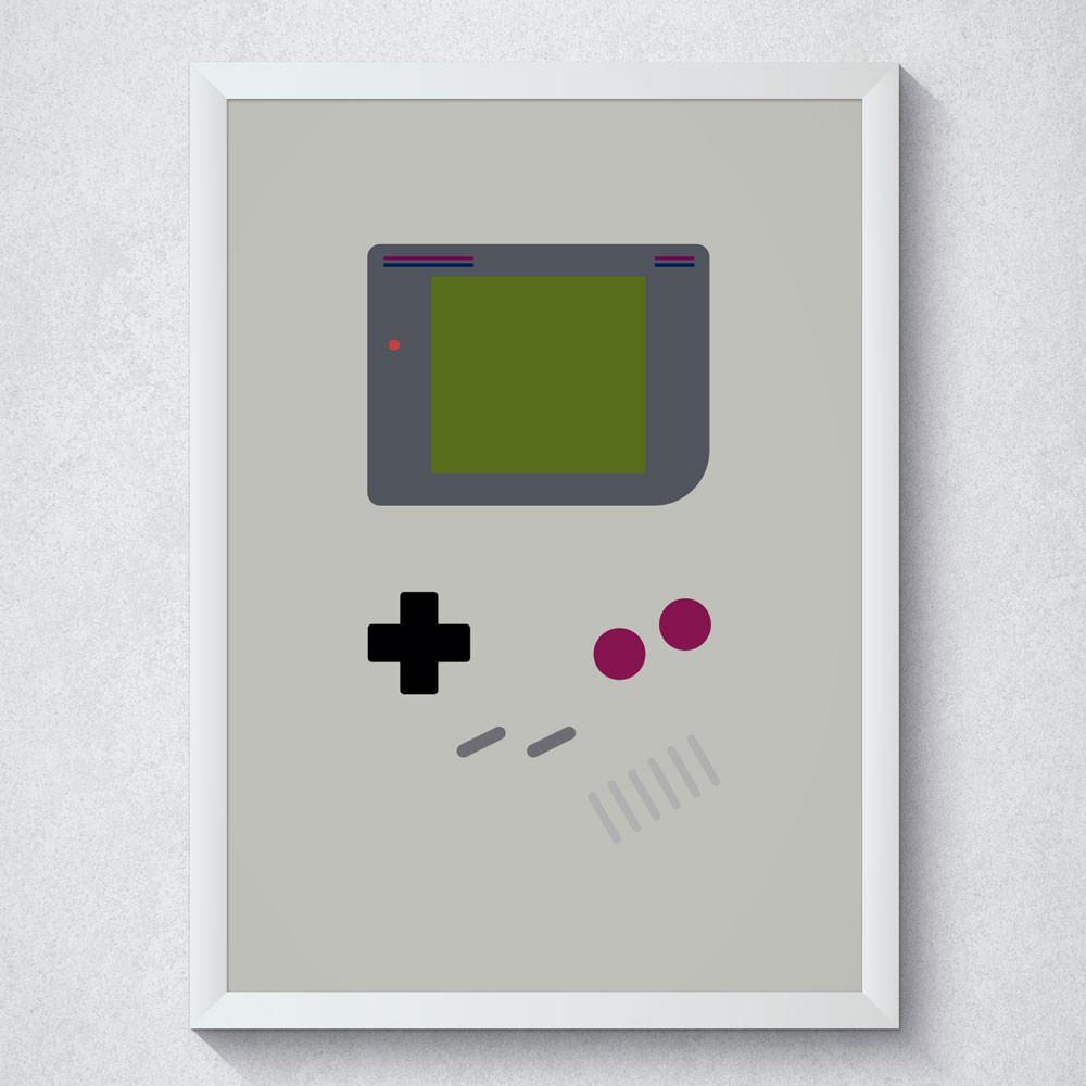 Quadro Decorativo Vídeo Game
