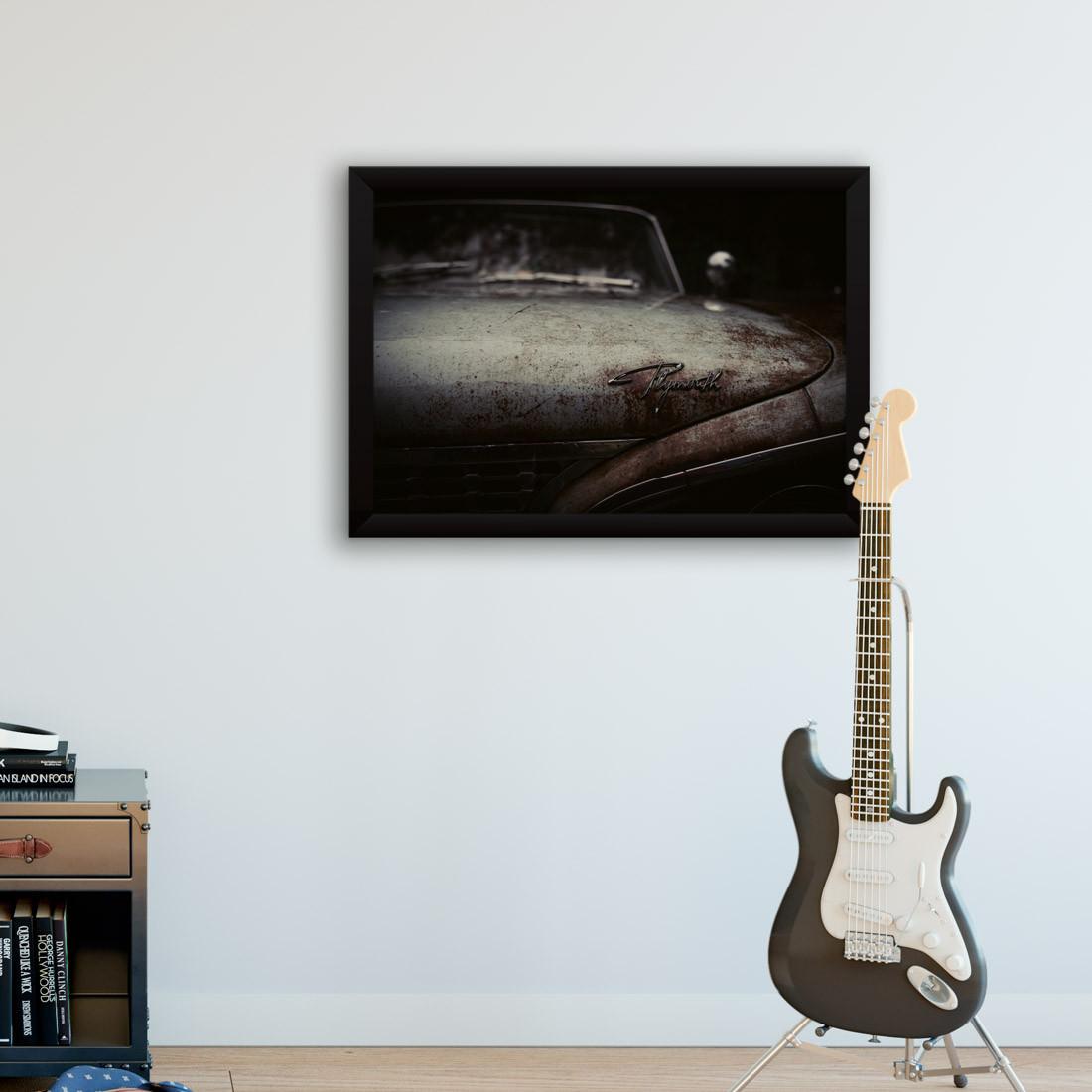 Quadro Decorativo Vintage Carro Plymouth
