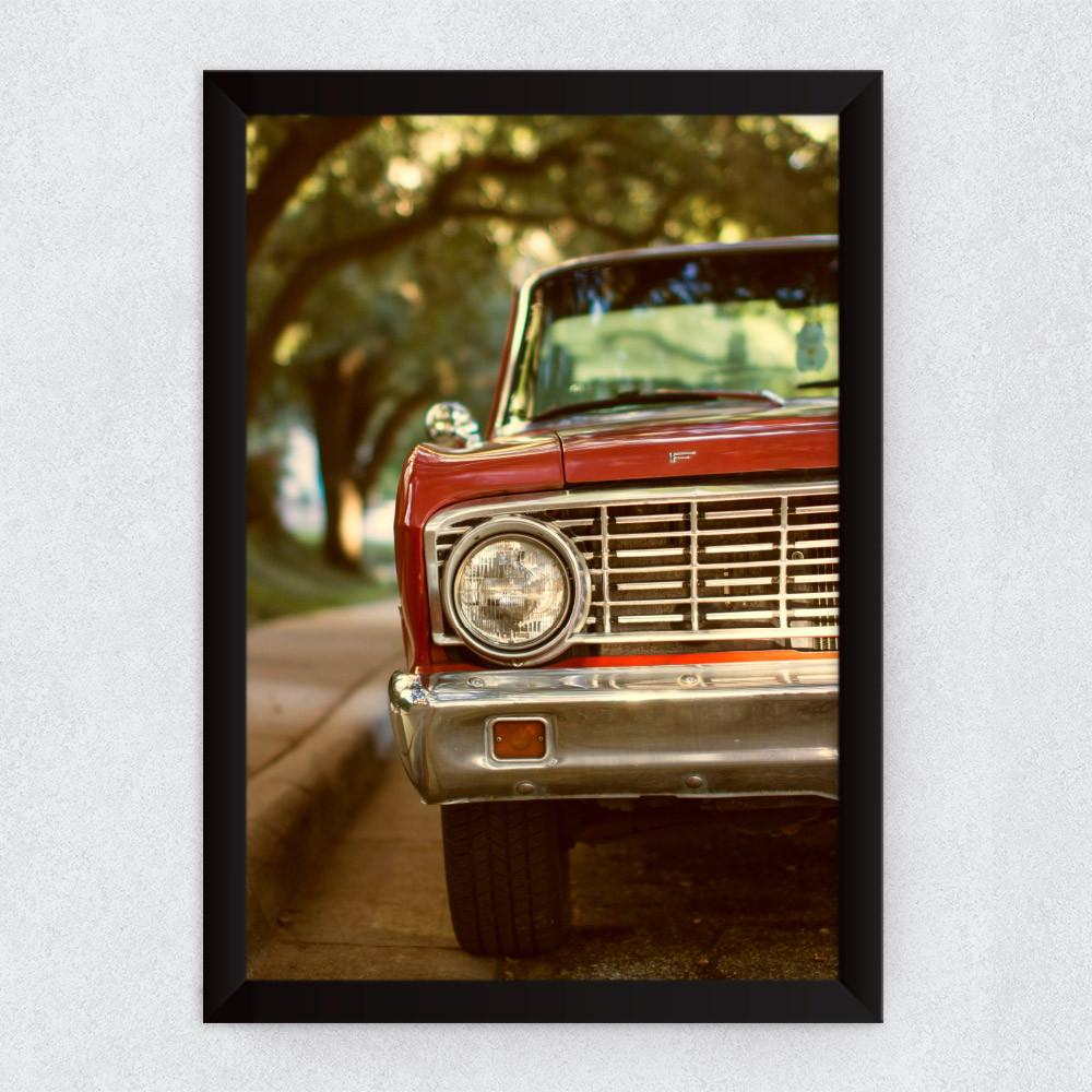 Quadro Decorativo Vintage Caminhonete Ford Americana F100