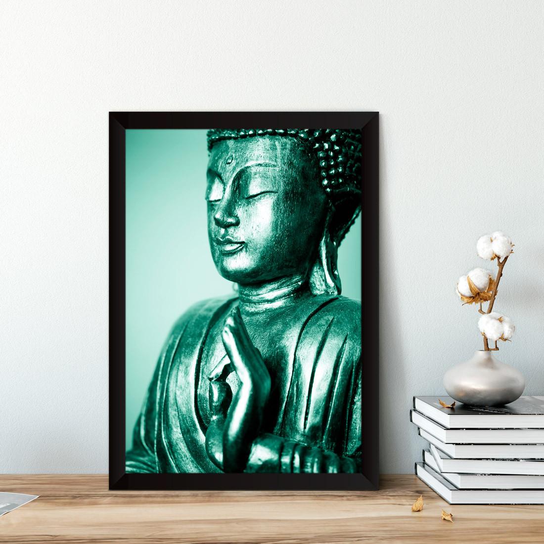 Quadro Decorativo Buddha Vitarka Mudra