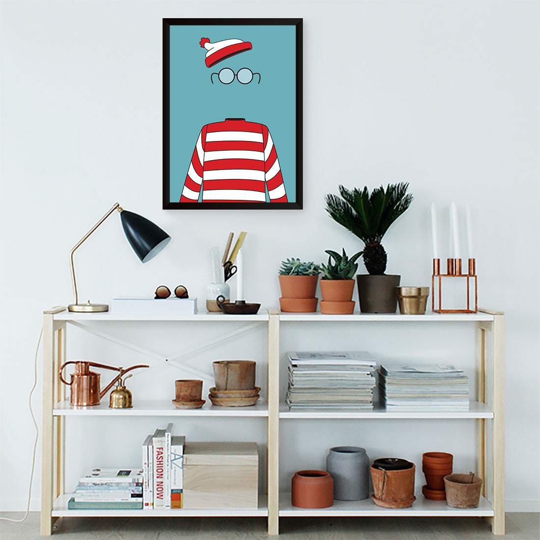 Quadro Decorativo Wally