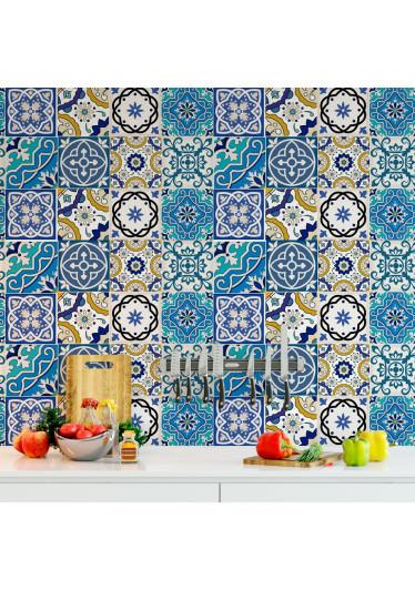 Adesivo de Azulejo Ladrilho Hidraulico Portugues