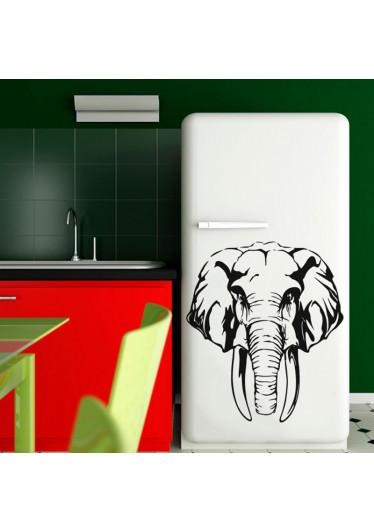 Adesivo de Geladeira Elefante