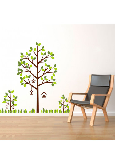 Adesivo Decorativo de Parede Árvore II