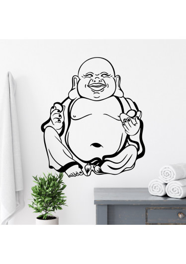 Adesivo Decorativo de Parede Buddha