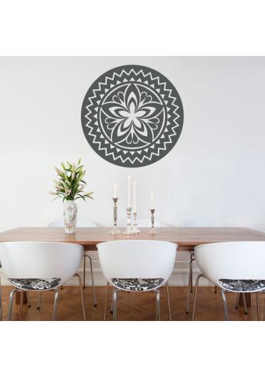 Adesivo decorativo Mandala Flor