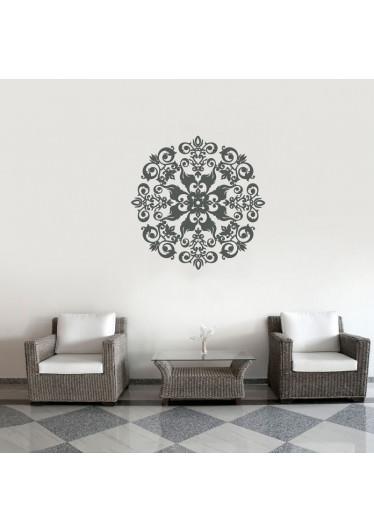 Adesivo de Parede Decorativo Mandala Arabesca