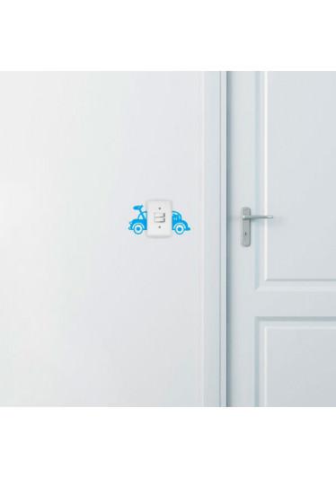 Adesivo Decorativo para Interruptor Carrinho