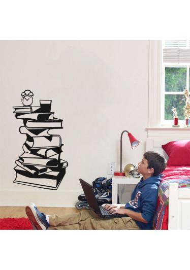 Adesivo Decorativo Pilha de Livros