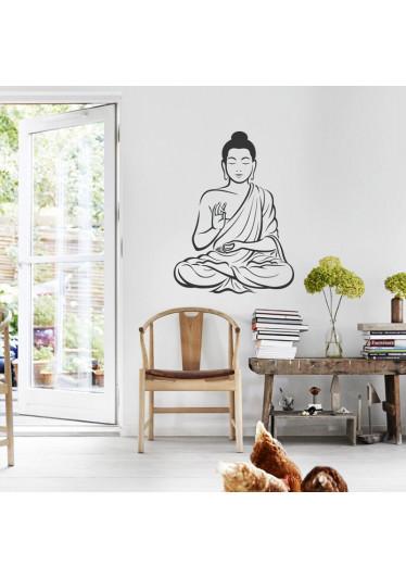 Adesivo Decorativo Buda