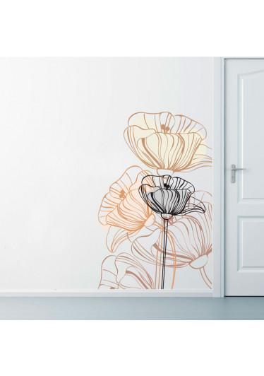 Adesivo de Parede Flor
