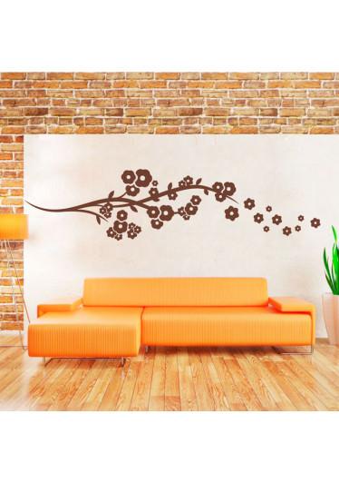 Adesivo Decorativo de Parede Floral Anemona