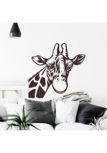 Adesivo de Parede Girafa Para Quarto