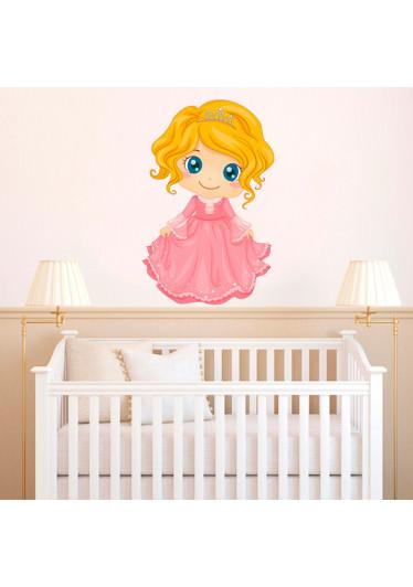 Adesivo de Parede Infantil Princesa Sara