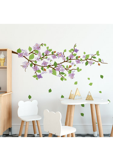 Adesivo de Parede Decorativo Galho Floral Infantil Lillas