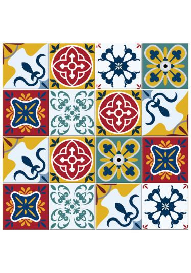 Adesivo Para Azulejo Coloridos