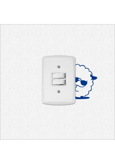 Adesivo para Interruptor Ovelha