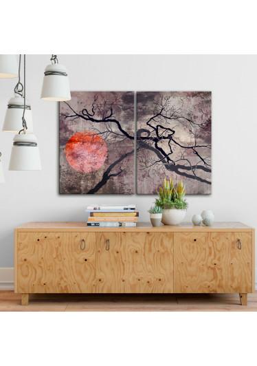Quadro Decorativo em canvas Sol